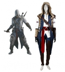 Assassin's Creed III Connor Full Set Costume
