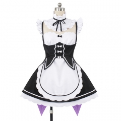 Re:Zero Rem Ram Cosplay Maid Uniform