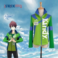 Prince of Stride Mihashi High School Aoi Shima Cosplay Athletic Jacket