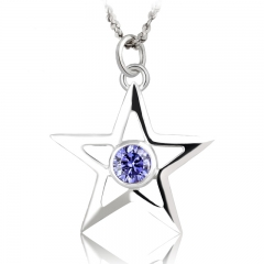 Black Rock Shooter BRS Star Pendant Necklace