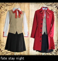 Fate Stay Night Rin Tohsaka School Outfit