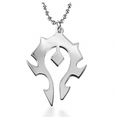 Word of Warcraft Horde Pendant Necklace