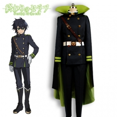 Owari no Seraph Yoichiro Hyakuya Imperial Demon Army Uniform