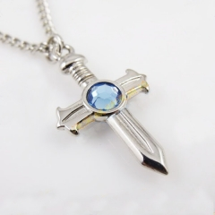 Fairy Tail Gray Cross Necklace