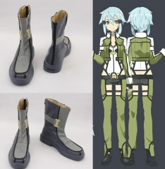 Gun Gale Online Sinon Cosplay Boots