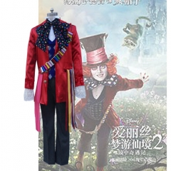 Alice In Wonderland The Mad Hatter Cosplay