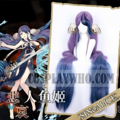 SINoALICE Little Mermaid Cosplay Wig
