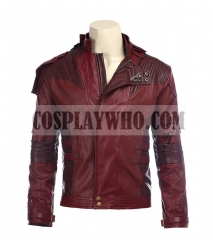 Guardians of the Galaxy Vol. 2 Star Lord Cosplay Pu Leather Jacket