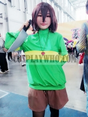 Undertale Chara Cosplay Long Sleeve T-shirt