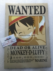 One Piece Wanted Poster 16 PCs