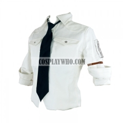 PUBG White Shirt Cosplay Costume
