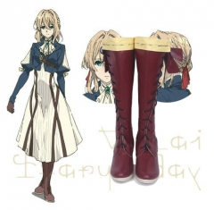 Violet Evergarden Cosplay Boots Shoes