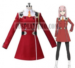 Darling in the Franxx Zero Two Cosplay Uniform