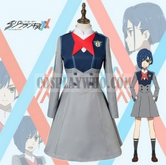 Darling in the Franxx Ichigo Cosplay Uniform