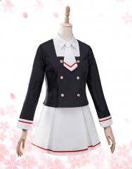 Cardcaptor Sakura: Clear Card Arc Sakura Cosplay Junior High School Uniform