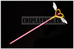 Magical Girl Ore Saki Uno Cosplay Staff Prop
