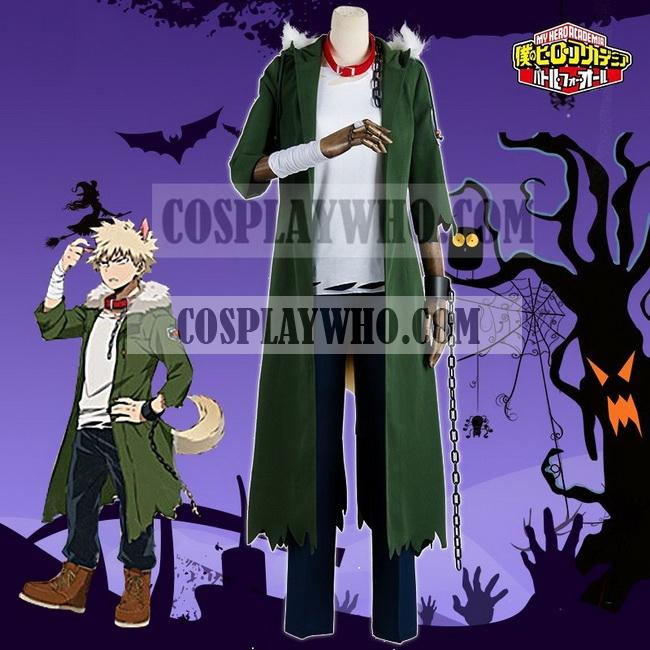 Boku no Hero Academia Katsuki Bakugo Cosplay Halloween Costume,Costume