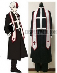Boku no Hero Academia Shoto Todoroki Cosplay Father's Costume