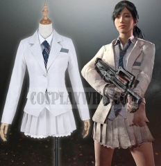 PUBG Girls School Uniform Cosplay Costume