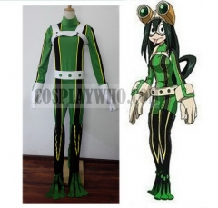 Boku no Hero Academia Tsuyu Asui Cosplay Hero Costume