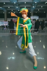 Cardcaptor Sakura: Clear Card Arc Syaoran Li Cosplay Battle Robes