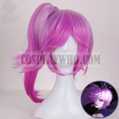 League of Legends Elementalist Lux Dark Form Wig