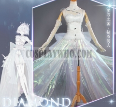 Houseki no Kuni Diamond Cosplay Wedding Dress