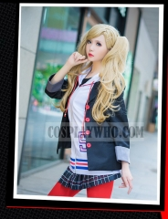 Persona 5 Ann Takamaki Winter School Uniform Cosplay