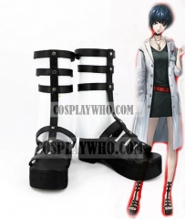 Persona 5 Tae Takemi Cosplay Black High Shoes