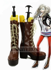 Persona 5 Ann Takamaki Cosplay Brown Boots