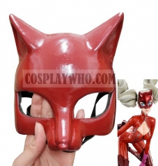 Persona 5 Ann Takamaki Cosplay Red Panther Mask