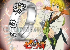 Anime Seven Deadly Sins Inspired Ring