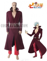 Seven Deadly Sins Ban Cosplay Costume