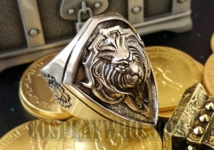 World of Warcraft Alliance King Lane Lion's Heart Ring