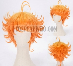 The Promised Neverland Emma Orange Wig Cosplay