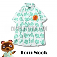 Animal Crossing: New Horizons Tom Nook Leaf Shirt